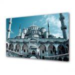 Tablou Canvas Luminos in intuneric VarioView LED Urban Orase Moscheea Hagia Sophia Istanbul Turcia