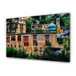 Tablou Canvas Luminos in intuneric VarioView LED Urban Orase Pictura urbana
