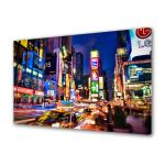 Tablou Canvas Luminos in intuneric VarioView LED Urban Orase Noaptea prin New york