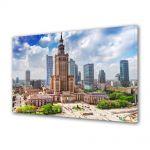 Tablou Canvas Palatul culturii in Varsovia Polonia