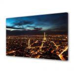 Tablou Canvas Luminos in intuneric VarioView LED Urban Orase Luminile noptii in Paris