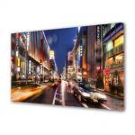 Tablou VarioView MoonLight Fosforescent Luminos in Urban Orase Strada in Tokyo