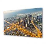 Tablou Canvas Vedere de sus in Dubai