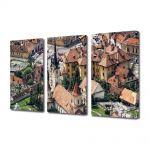 Set Tablouri Multicanvas 3 Piese Biserica Sf Nicolae Brasov