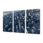 Set Tablouri Multicanvas 3 Piese Orasul New York