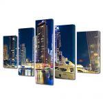 Set Tablouri Multicanvas 5 Piese Dubai
