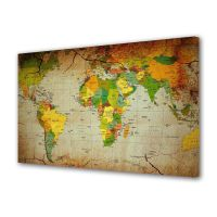 Tablou Canvas Harta politica a lumii