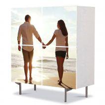 Comoda cu 4 Usi Art Work Personalizata, 84 x 84 cm