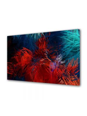 Tablou Canvas Luminos in intuneric VarioView LED Abstract Modern Compozitie