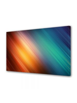 Tablou Canvas Luminos in intuneric VarioView LED Abstract Modern Unde de lumina
