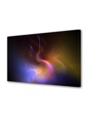 Tablou Canvas Luminos in intuneric VarioView LED Abstract Modern Galaxie