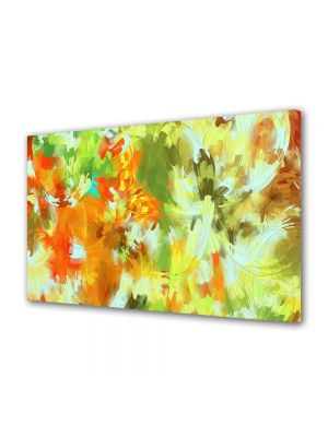 Tablou Canvas Luminos in intuneric VarioView LED Abstract Modern Camuflaj deschis