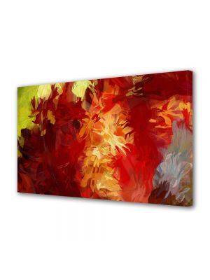 Tablou Canvas Luminos in intuneric VarioView LED Abstract Modern Culori scurse
