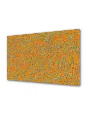 Tablou CADOU Textura portocalie 20 x 30 cm