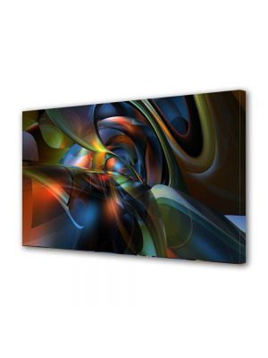 Tablou Canvas Luminos in intuneric VarioView LED Abstract Modern Mase plastice