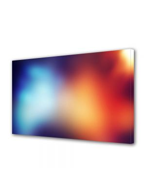 Tablou Canvas Luminos in intuneric VarioView LED Abstract Modern Halou