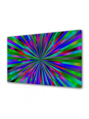 Tablou Canvas Luminos in intuneric VarioView LED Abstract Modern Spre centru
