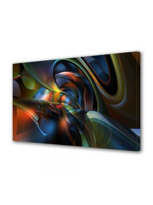 Tablou VarioView MoonLight Fosforescent Luminos in intuneric Abstract Decorativ Sinusoidale
