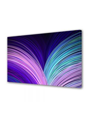 Tablou Canvas Luminos in intuneric VarioView LED Abstract Modern Carte abstracta