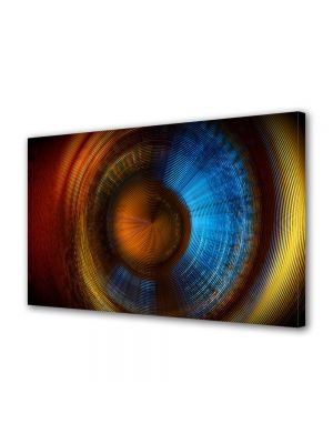 Tablou Canvas Luminos in intuneric VarioView LED Abstract Modern Membrana