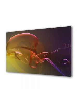 Tablou Canvas Luminos in intuneric VarioView LED Abstract Modern Pe fundul oceanului