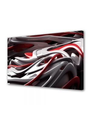 Tablou Canvas Luminos in intuneric VarioView LED Abstract Modern De plastic