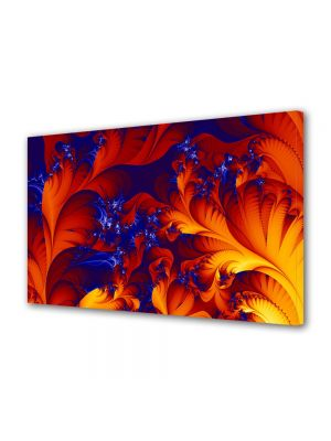 Tablou Canvas Luminos in intuneric VarioView LED Abstract Modern Petale