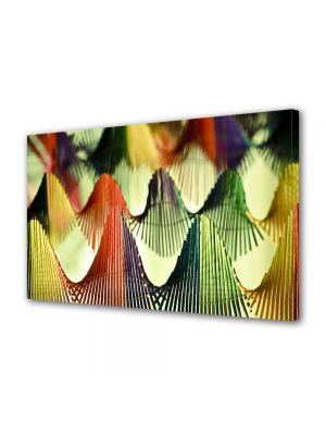 Tablou VarioView MoonLight Fosforescent Luminos in intuneric Abstract Decorativ Corzi