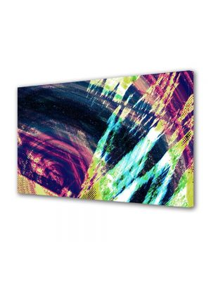 Tablou Canvas Luminos in intuneric VarioView LED Abstract Modern Saturat