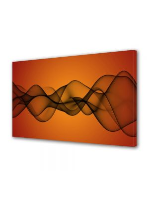 Tablou Canvas Luminos in intuneric VarioView LED Abstract Modern Unde de fum