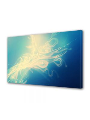 Tablou Canvas Luminos in intuneric VarioView LED Abstract Modern Zana