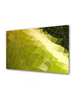 Tablou Canvas Luminos in intuneric VarioView LED Abstract Modern Origami