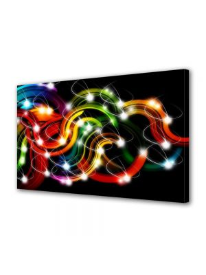 Tablou Canvas Luminos in intuneric VarioView LED Abstract Modern Sirag de lumini