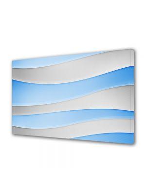 Tablou VarioView MoonLight Fosforescent Luminos in intuneric Abstract Decorativ Dealuri albe si Bleu