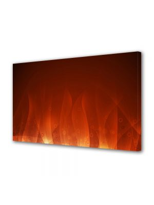 Tablou Canvas Luminos in intuneric VarioView LED Abstract Modern Flacari