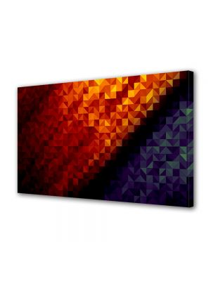 Tablou Canvas Luminos in intuneric VarioView LED Abstract Modern Patratele