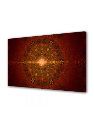 Tablou Canvas Luminos in intuneric VarioView LED Abstract Modern India