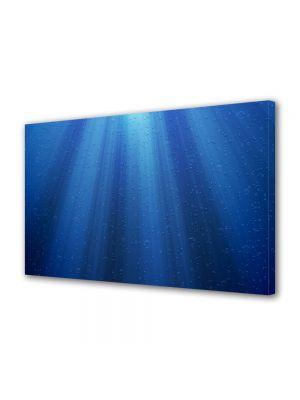 Tablou Canvas Luminos in intuneric VarioView LED Abstract Modern Raze de lumina sub apa