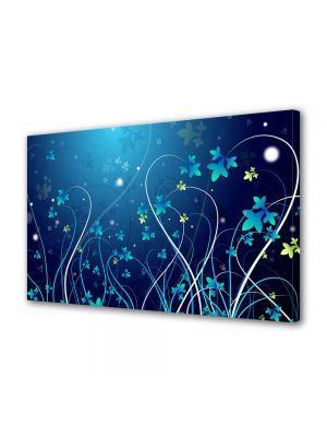Tablou Canvas Luminos in intuneric VarioView LED Abstract Modern Plante abstracte