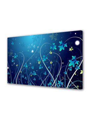 Tablou Canvas Abstract Flori