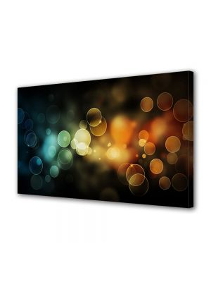 Tablou Canvas Luminos in intuneric VarioView LED Abstract Modern Lumini