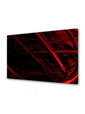 Tablou Canvas Luminos in intuneric VarioView LED Abstract Modern Schele