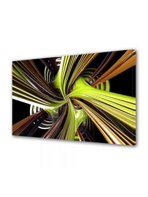 Tablou Canvas Luminos in intuneric VarioView LED Abstract Modern Vartej