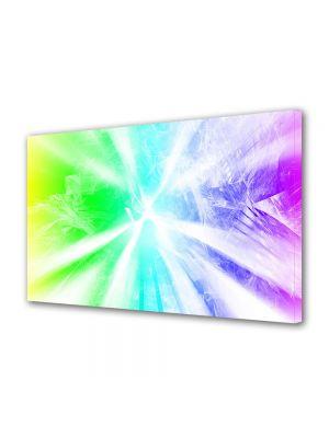 Tablou Canvas Luminos in intuneric VarioView LED Abstract Modern Raze de lumina