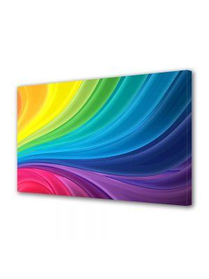 Tablou Canvas Luminos in intuneric VarioView LED Abstract Modern Spectru luminos