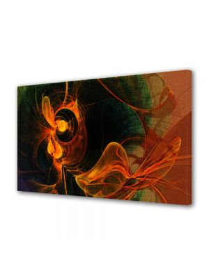 Tablou Canvas Luminos in intuneric VarioView LED Abstract Modern Foc