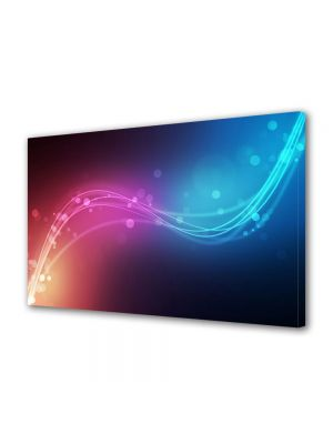 Tablou Canvas Luminos in intuneric VarioView LED Abstract Modern Urme de lumina