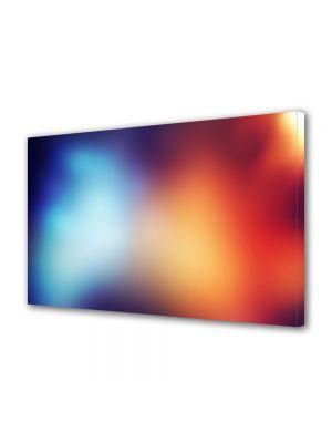 Tablou Canvas Abstract Rosu si albastru