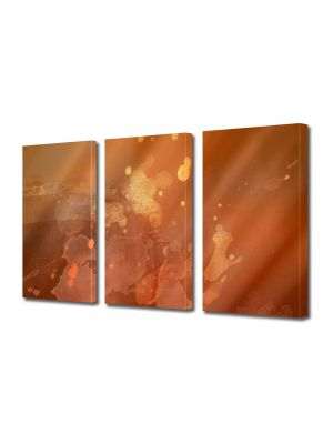 Set Tablouri Multicanvas 3 Piese Abstract Decorativ Arsita