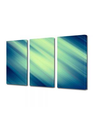 Set Tablouri Multicanvas 3 Piese Abstract Decorativ Lateral